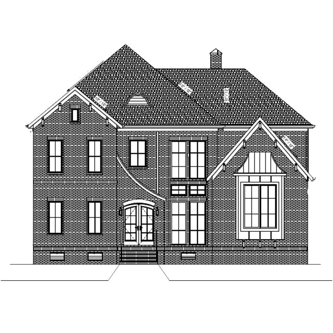 Drawing of investment property in Charlotte, NC