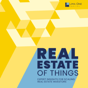 the real estate of things podcast cover image